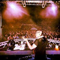 #Skrillex live #EDM Music Festival, New Orleans