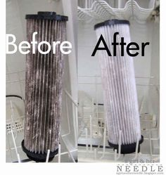 Clean your vacuum filters in the dishwasher.