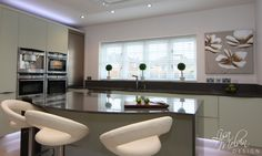 Triforium Homes - Orchard Gardens - contemporary - kitchen - london - Lisa Melvin Design Glass Kitchen, Rustic Kitchen, New Kitchen, Vintage Kitchen, Kitchen Ideas Uk Small, Modern Kitchen Design, Kitchen Designs, Interior Design Inspiration, Home Interior Design