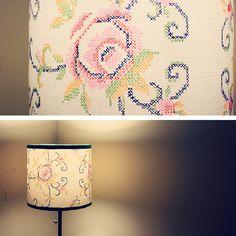 diptych: lamp light