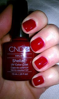 CND Shellac in Decadence for Christmas