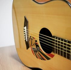 Acoustic Guitar Pickguard Basic Freedom A