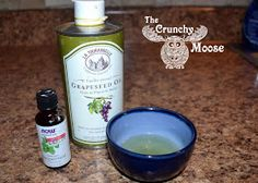 The Crunchy Moose: Natural Stomach Ache / Cramping Relief