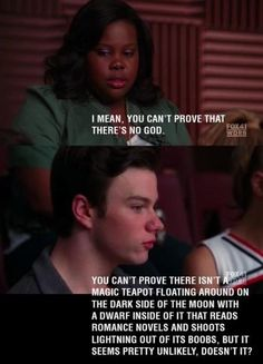 Got to love Glee for this! I actually watched this episode:)