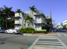 236 21st Street - South Beach Hotel (formerly The Liberty Arms Hotel, then The Caracas Apartments) - Built: 1939 - Architect: Henry Hohauser - Style: Art Deco