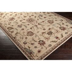 Meticulously Woven Lanier Floral Area Rug (5'3 x 7'6) | Overstock.com Shopping - The Best Deals on 5x8 - 6x9 Rugs
