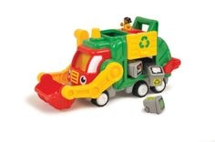 Flip and Tip Fred Friction Powered Recycling Truck by WOW Toys