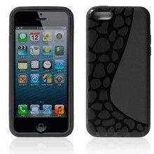 Funda iPhone 5C - Gel con Soporte Negro  AR$ 54,23