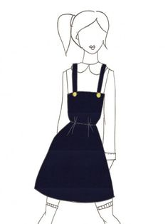Support and turn this sketch into real product! Jules navy cord by Amy He.