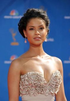 Gugu Mbatha-Raw, actress, born in England in 1983. Her mother is English and her father is South African.