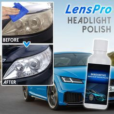 Headlight Repair, Headlight Cleaner, Headlight Lens, Remove Dents From Car, How To Clean Headlights, Car Furniture, Mini Gps Tracker, Driving Safety, Car Cleaning Hacks