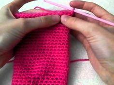 How to crochet socks / slippers tutorial