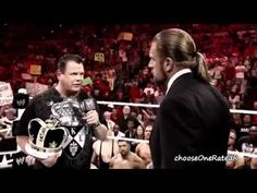 WWE Vengeance 2011   Triple H & Cm Punk Vs  The Miz & R Truth Official P...