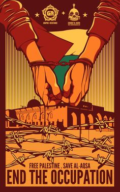 Palestine Poster by graphic-resistance on @DeviantArt