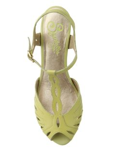 Maybe lime would be bright enough! Seychelles Footwear