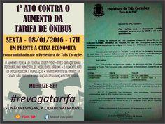 Folha do Sul - Blog do Paulão no ar desde 15/4/2012: TRÊS CORAÇÕES: 1º ATO CONTRA O AUMENTO DA TARIFA D...