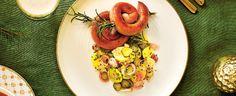 Vinná klobása a lehký bramborový salát