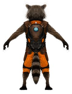 For a UT2004 skin. Front is here: Rocket Raccoon Orthographic (Front) Download UT skin here: dl.dropboxusercontent.com/u/79…