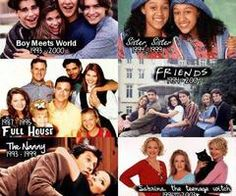 TV shows of the 90's