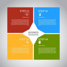 Business Infographics Geometry Square Design Marketing Presentation Section Bann , Image Infographics, Business Infographics, Branding Design, Logo Design, Marketing Presentation, Banner Vector, Design Reference, Brochures, Geometry