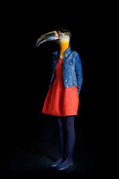 Second Skins: Fashionably Dressed Animals, Photographed by Miguel Vallinas