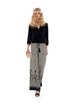 Top e pantaloni di Luisa Spagnoli - Completo da cerimonia con top modello  Baltica e pantalone modello Africa. Antonellamaisto · Abiti 88a44f6f625