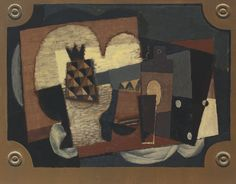 Louis Marcoussis Still Life with Pineapple