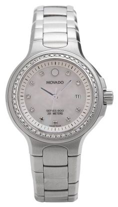 Movado Women's 2600035 Series 800 Performance Diamond Accented Watch ~ Movado means 'always in motion' ~ Sale Price: $1,505.75