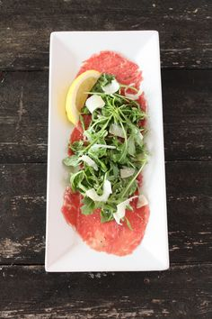 Beef Carpaccio - Cake 'n Knife