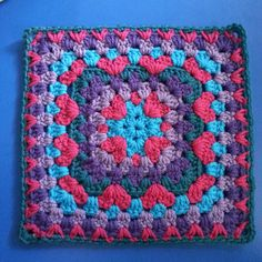 Lots of Love Crochet Square: free pattern, thanks so xox Direct link here if you not on Ravelry: http://byddhines.blogspot.co.uk/2013/07/lots-of-love-afghan-block.html?m=1