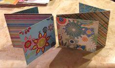 "Z-Flap Scrapbook Album using My Mind's Eye ""Magnolia"" Collection"