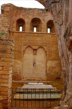 qoubba Abou Hassa Nécropole du Chella, près de Rabat, à partir de 1284