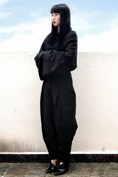 Rick owens inspired outfit