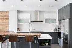 Cuisine Condo, Kitchen Island, Real Estate, Interior Design, Inspiration, Home Decor, Ideas, Island Kitchen, Nest Design