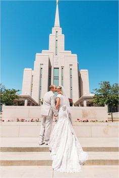 Utah Wedding Photographer- Oquirrh Mountain temple
