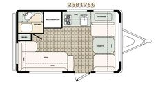 Cargo Trailer Conversion Floor Plans | Floor Plans Standard Features Popular Options Specifications Color ...