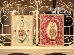 Christmas Tags by Patimac1980 - Cards and Paper Crafts at Splitcoaststampers