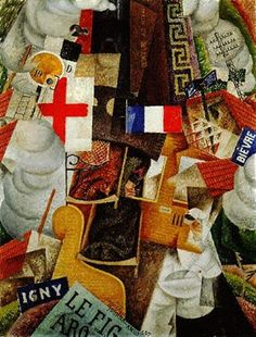 Train de blessés, 1915 - Gino Severini