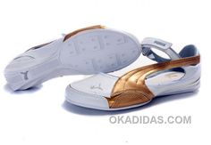 http://www.okadidas.com/womens-puma-speed-princess-baller-sandals-white-gold-cheap-to-buy.html WOMENS PUMA SPEED PRINCESS BALLER SANDALS WHITE GOLD CHEAP TO BUY : $74.00