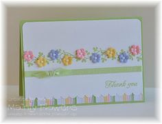 Mainly Flowers Independent Stampin Up! Demonstrator Joanne Gelnar: Little Flower Vine