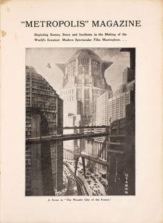 1927年の歴史的SF映画『メトロポリス』の貴重なパンフレット:ギャラリー « WIRED.jp