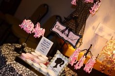 Lovely Sweet 16 Birthday Party!  See more party ideas at CatchMyParty.com!  #partyideas #sweet16