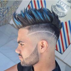 Get an instant color upgrade that washes out. This new temporary hair dye adds texture and shine, suitable for all hair type from thick to medium hair. Mens Hair Colour, Hair Color, Hairstyles Haircuts, Haircuts For Men, Boy Haircuts Long, Barber Haircuts, Fashion Hairstyles, Hair And Beard Styles, Curly Hair Styles