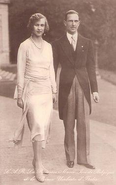 Kronprinz Umberto und Kronprinzessin Marie Jose von Italien , future King &  Queen of Italy #TuscanyAgriturismoGiratola