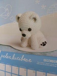 Polar Bear Amigurumi. I <3 Polar Bears!