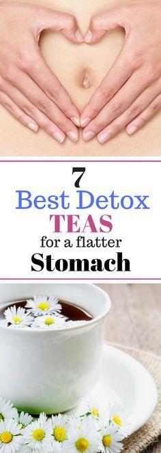 7 Best Detox Teas for a Flatter Stomach