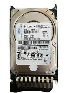 IBM 42D0639-300GB 2.5 SAS 10K 6Gb//s Slim-HS Hard Drive