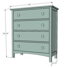 Best 12 Free Diy Dresser Plans Build Your Own Solid Wood 400 x 300
