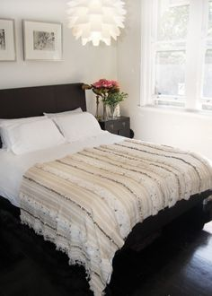 Moroccan Wedding Blanket for foot of master bed