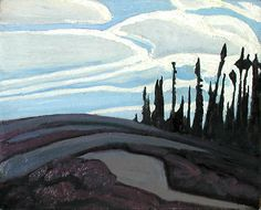 Above Lake Superior Lawren Harris, Canadian Group of Seven Group Of Seven Artists, Group Of Seven Paintings, Canadian Painters, Canadian Artists, Landscape Art, Landscape Paintings, Landscapes, Emily Carr Paintings, Tom Thomson